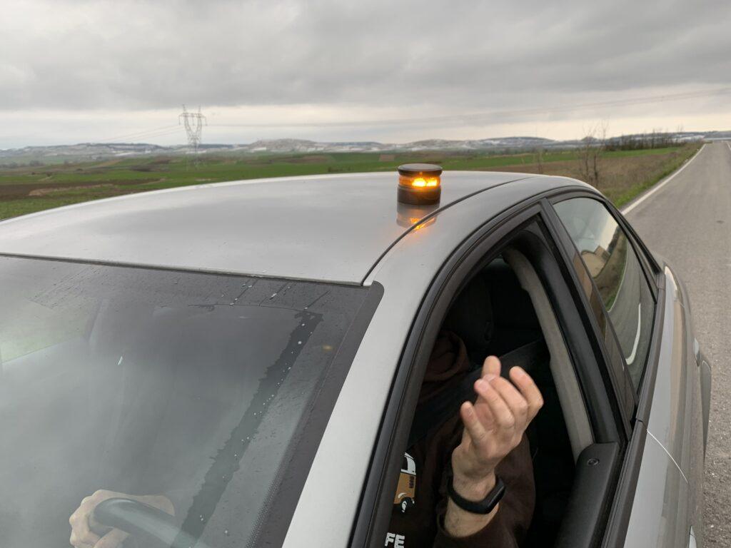 Luz V16 Homologada Hero Driver LEd